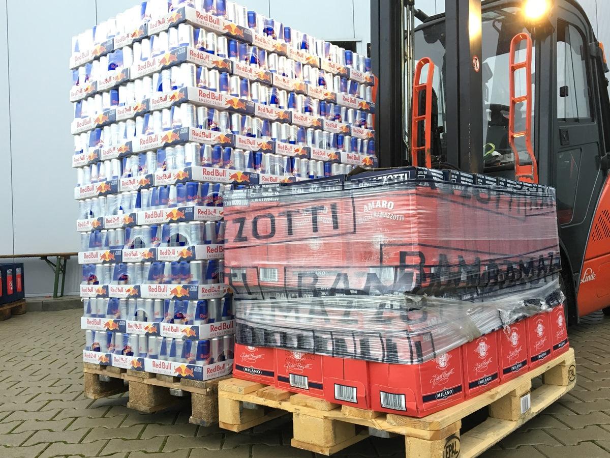 2,5 Tonnen Getränke gestohlen | Radio Hochstift