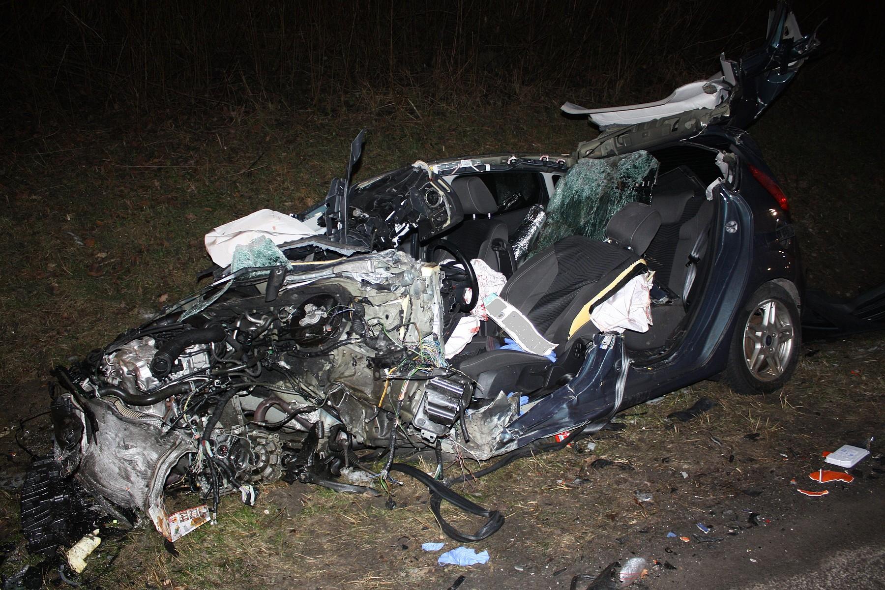 Tödlicher Unfall auf der B1